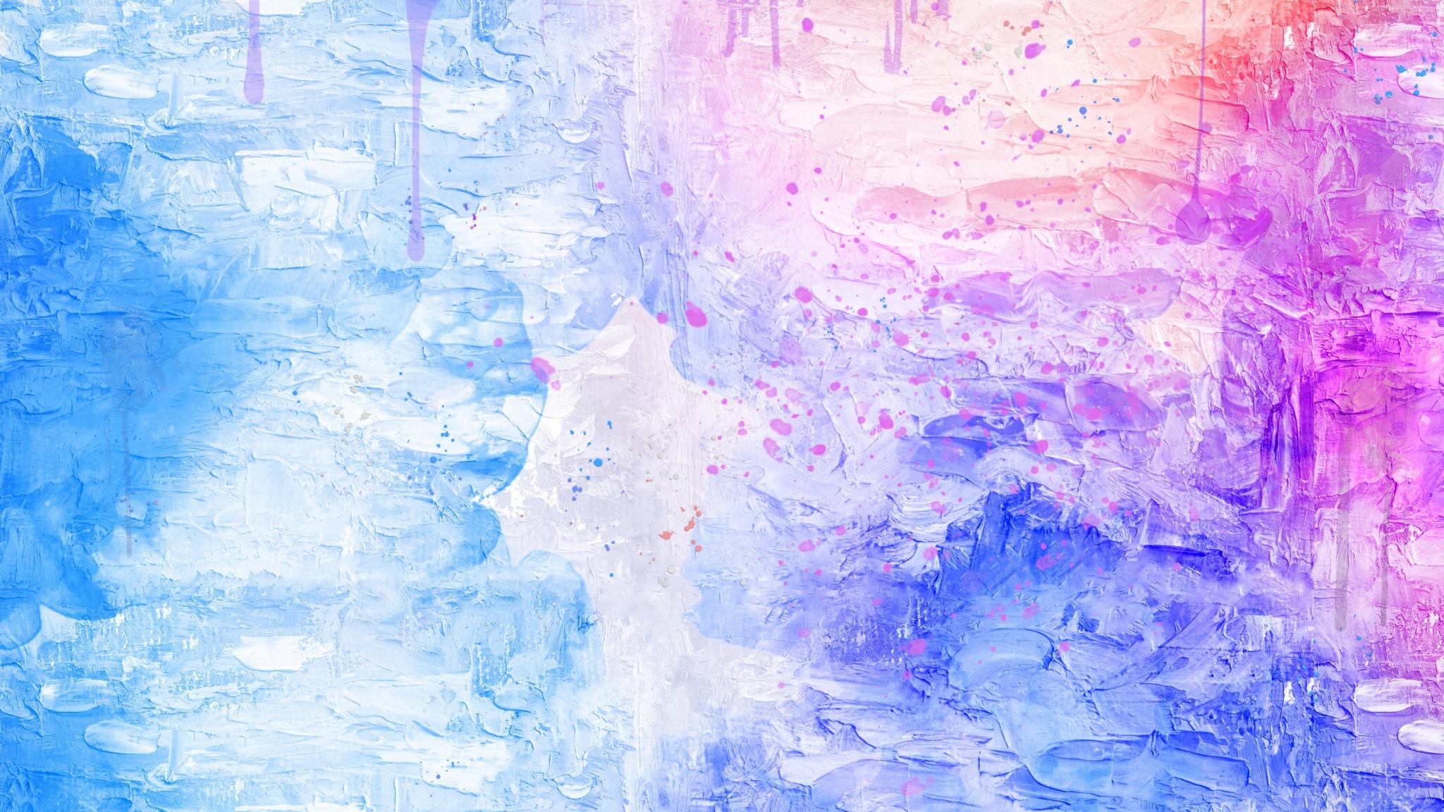 ブルーピンク ピンクの水の壁紙 48x1152 Wallpapertip
