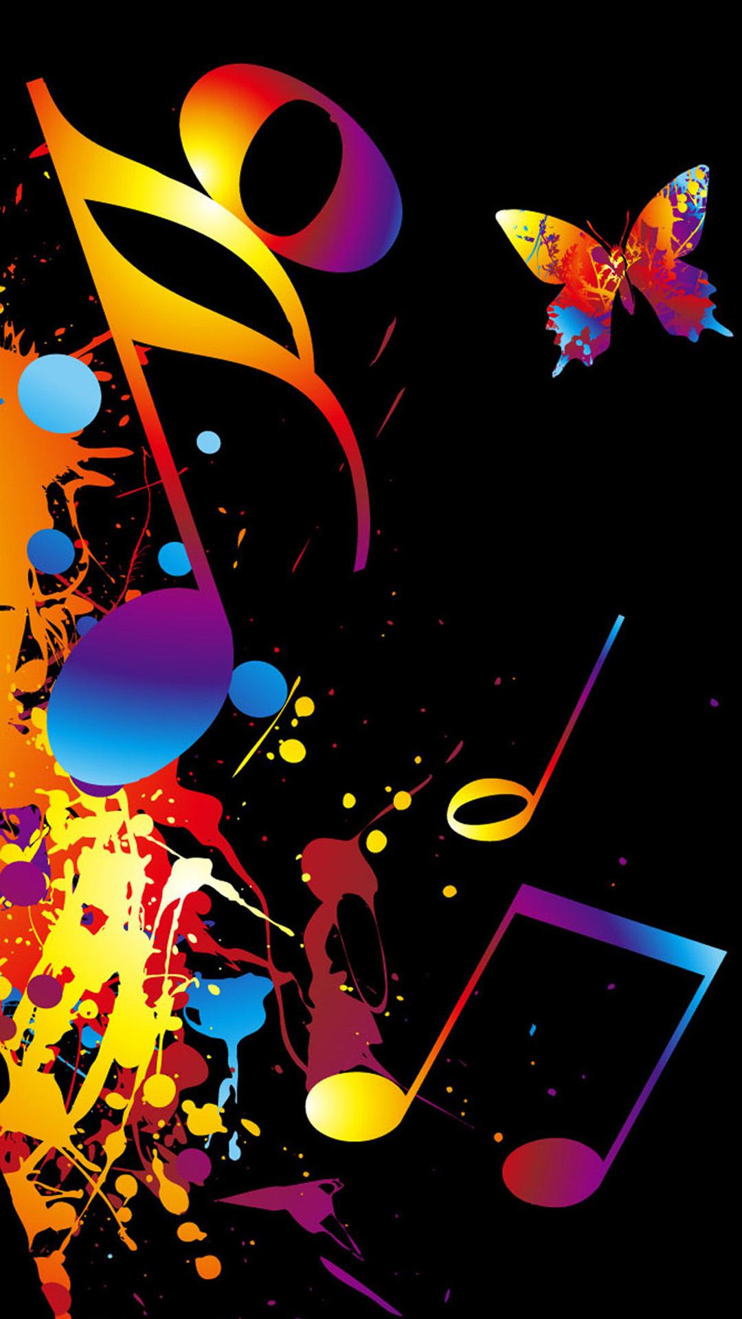 Music Theme Wallpaper Music Iphone Cool Wallpaper Cool 1080x1920 Download Hd Wallpaper Wallpapertip
