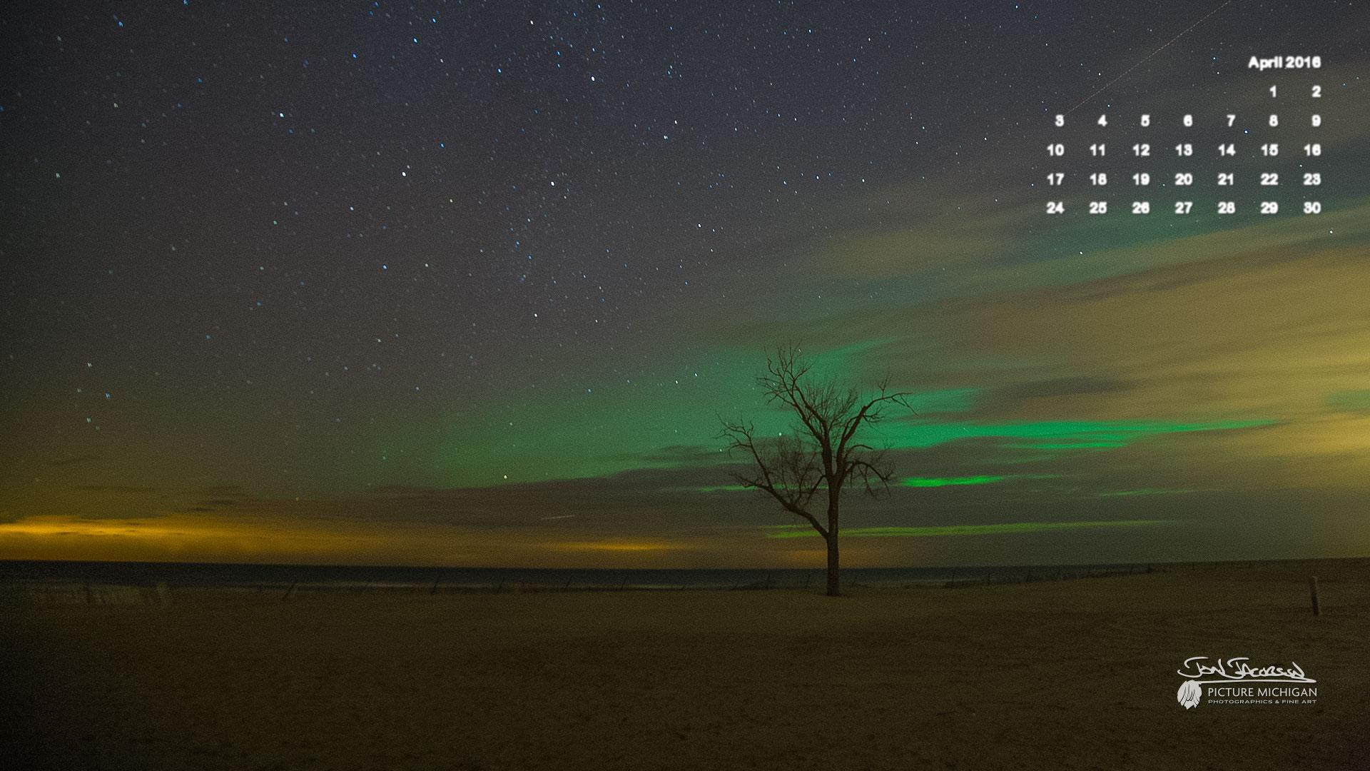 88 887557 april 2016 calendar desktop wallpaper northern lights calendar