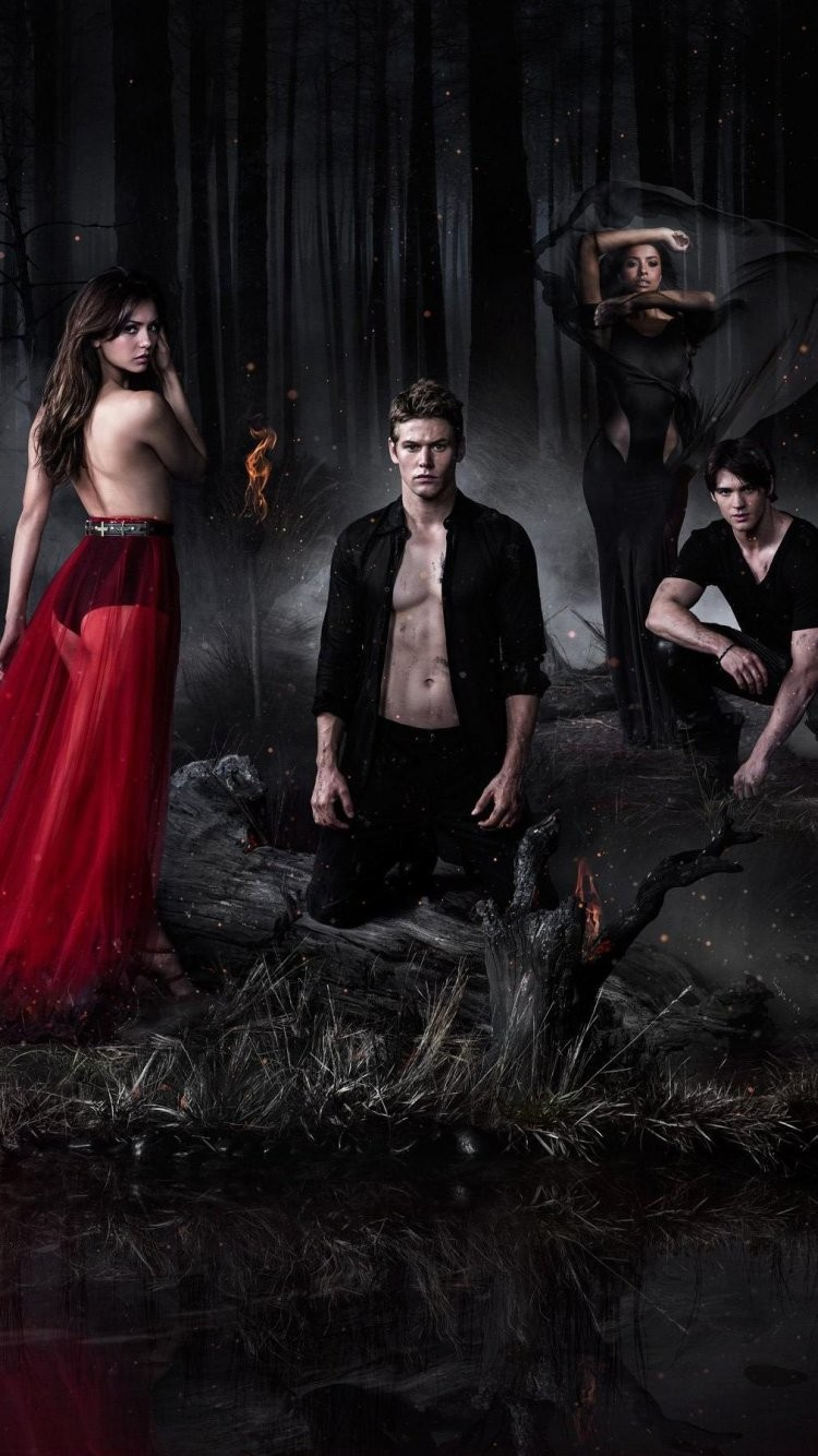 Vampire Diaries Iphone Wallpaper Vampire Diaries Season 5 Cover 750x1334 Download Hd Wallpaper Wallpapertip