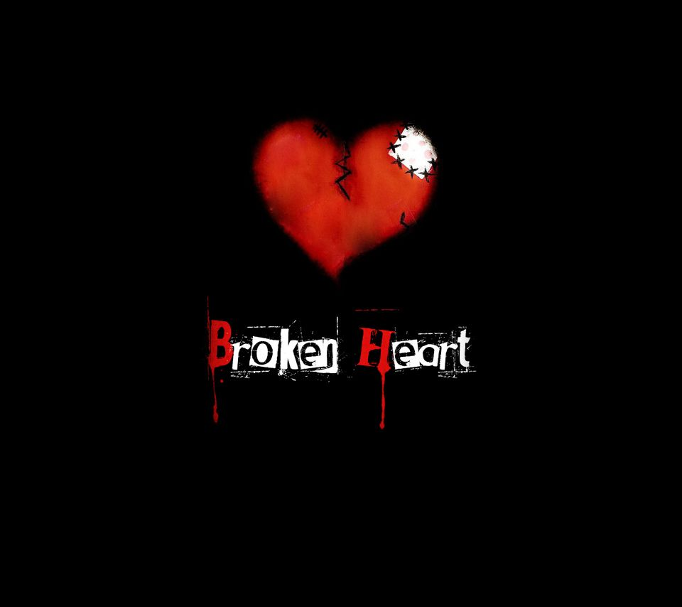 Broken Wallpaper Black Heart 960x854 Download Hd Wallpaper Wallpapertip