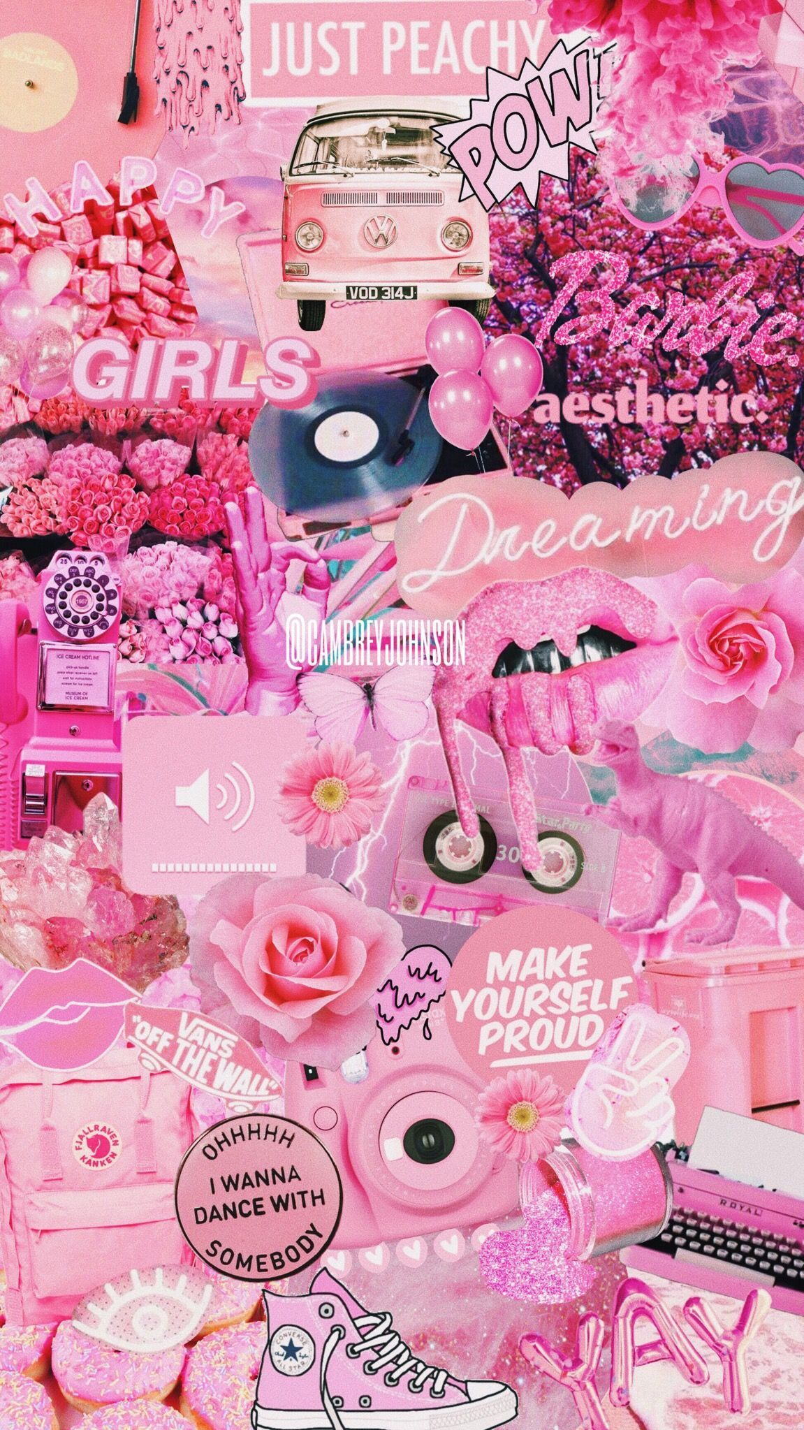 Pink Colour Palette Motivational Quotes Girly Iphone Vsco Girl 700x1244 Download Hd Wallpaper Wallpapertip