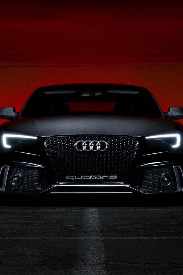 Black Audi S5 Audi S5 Wallpaper Iphone 640x960 Download Hd Wallpaper Wallpapertip