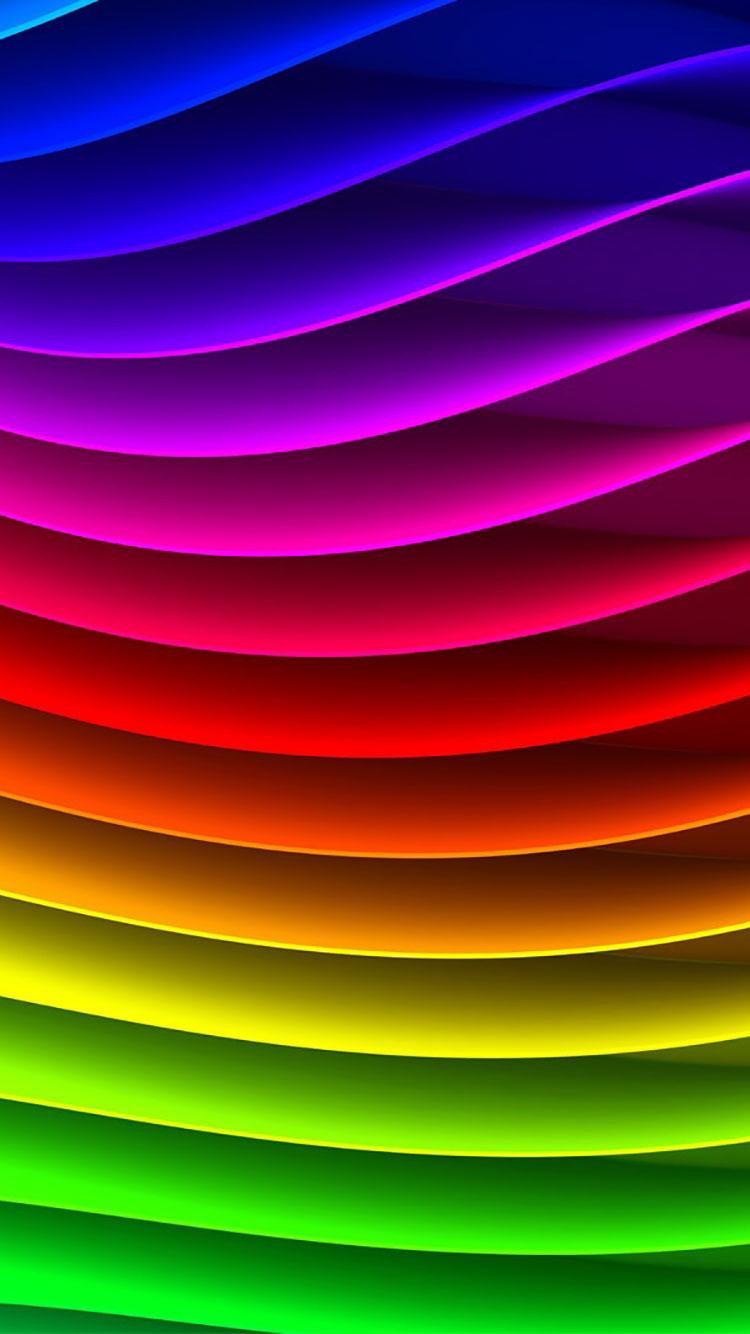 abstraktes Hintergrundbild für Smartphone   Regenbogen iPhone ...