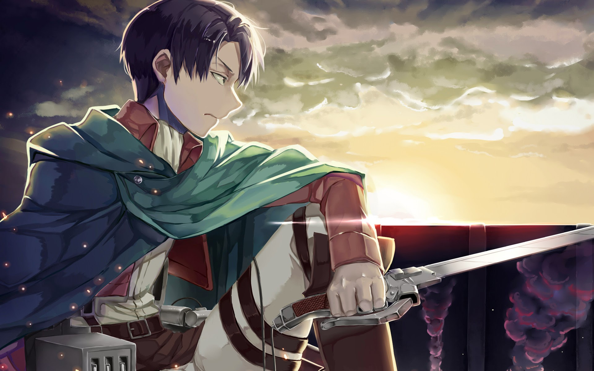 Levi Wallpaper Hd Aot 1920x1200 Download Hd Wallpaper Wallpapertip