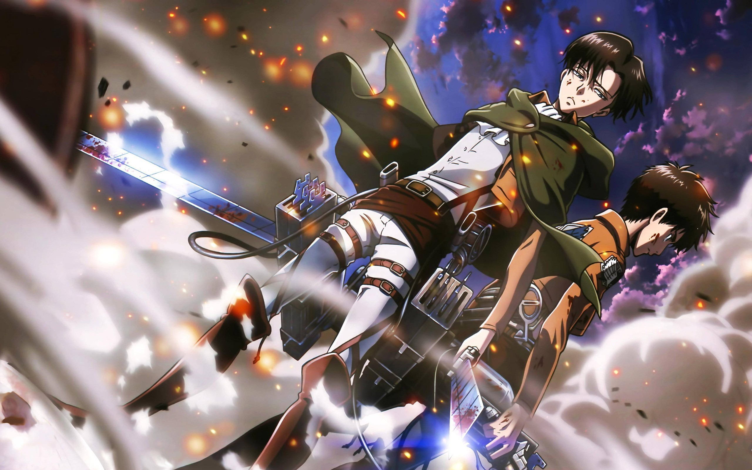 Pictures Of Levi Ackerman Eren And Levi Wallpaper Mobile 2560x1600 Download Hd Wallpaper Wallpapertip