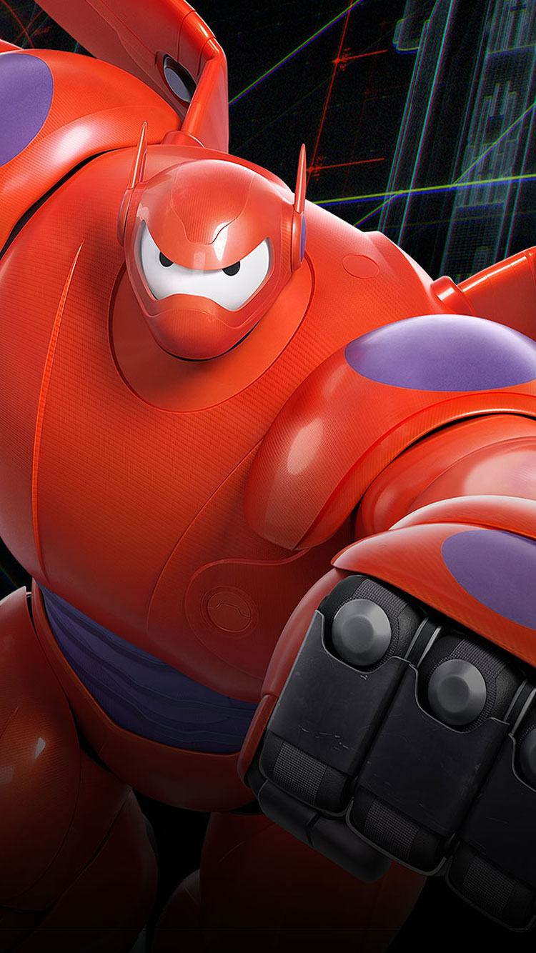 Baymax Big Hero 6 Cast 750x1334 Download Hd Wallpaper Wallpapertip