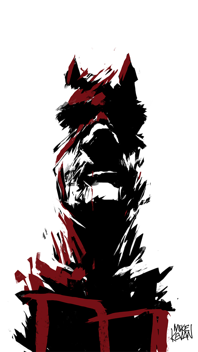 Animated Superhero Wallpapers Daredevil Phone Wallpaper 4k 640x1136 Download Hd Wallpaper Wallpapertip