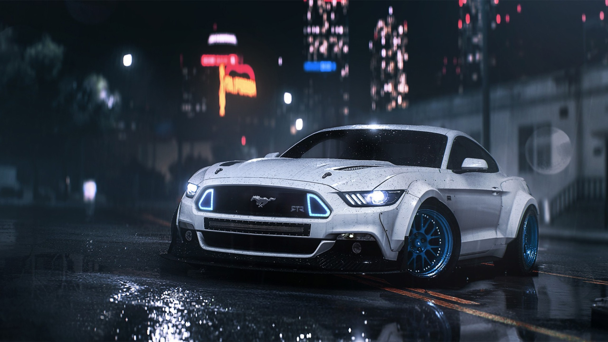 need for speed movie mustang wallpaper