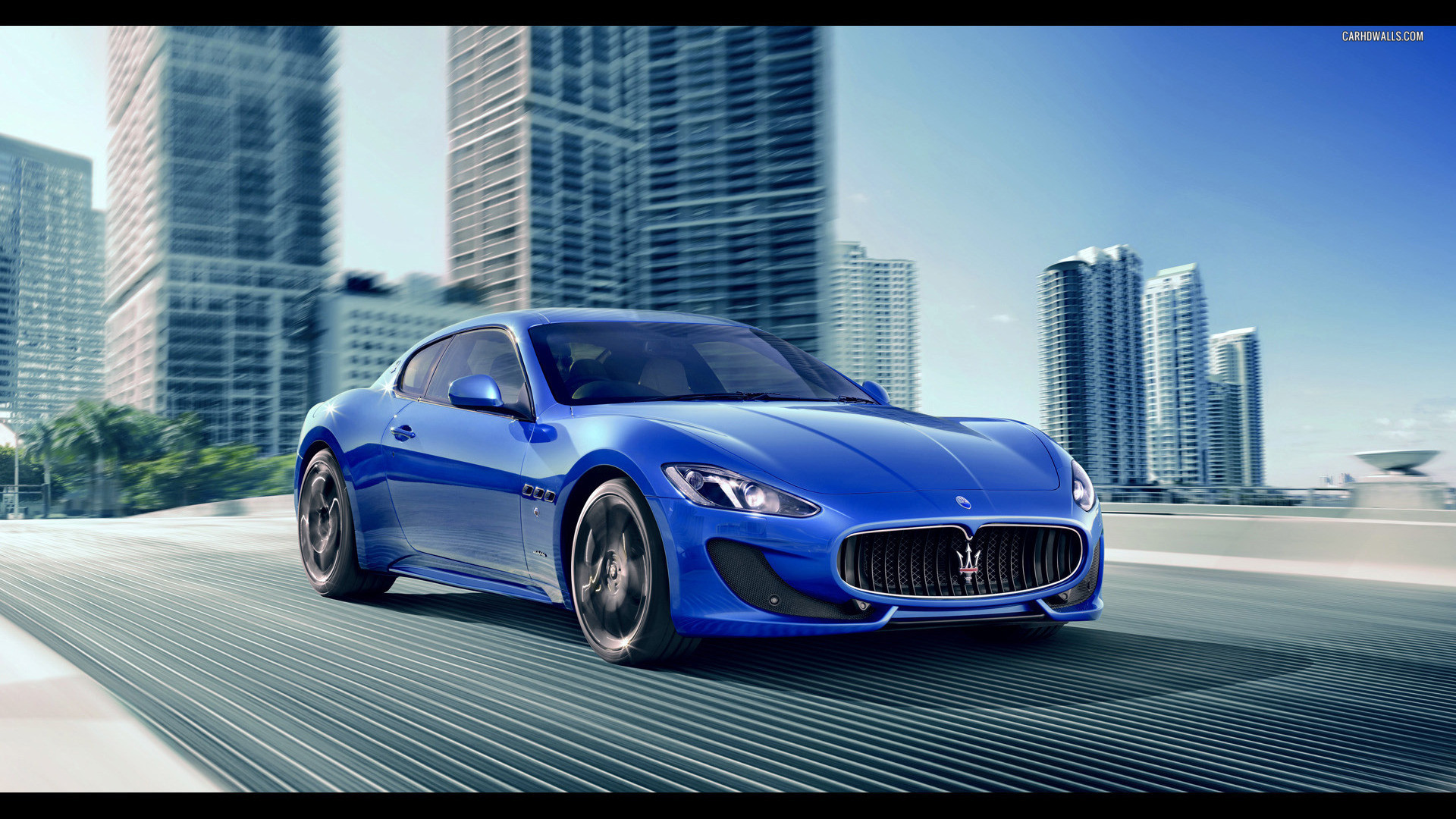 Maserati Car Wallpapers 5 Maserati Blue Car 1920x1080 Download Hd Wallpaper Wallpapertip