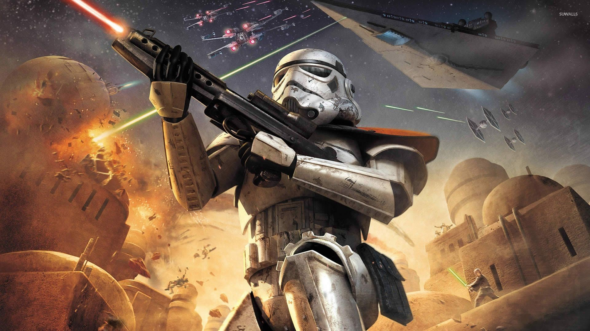 Star Wars Battlefront Star Wars Stormtrooper Art 1920x1080 Download Hd Wallpaper Wallpapertip
