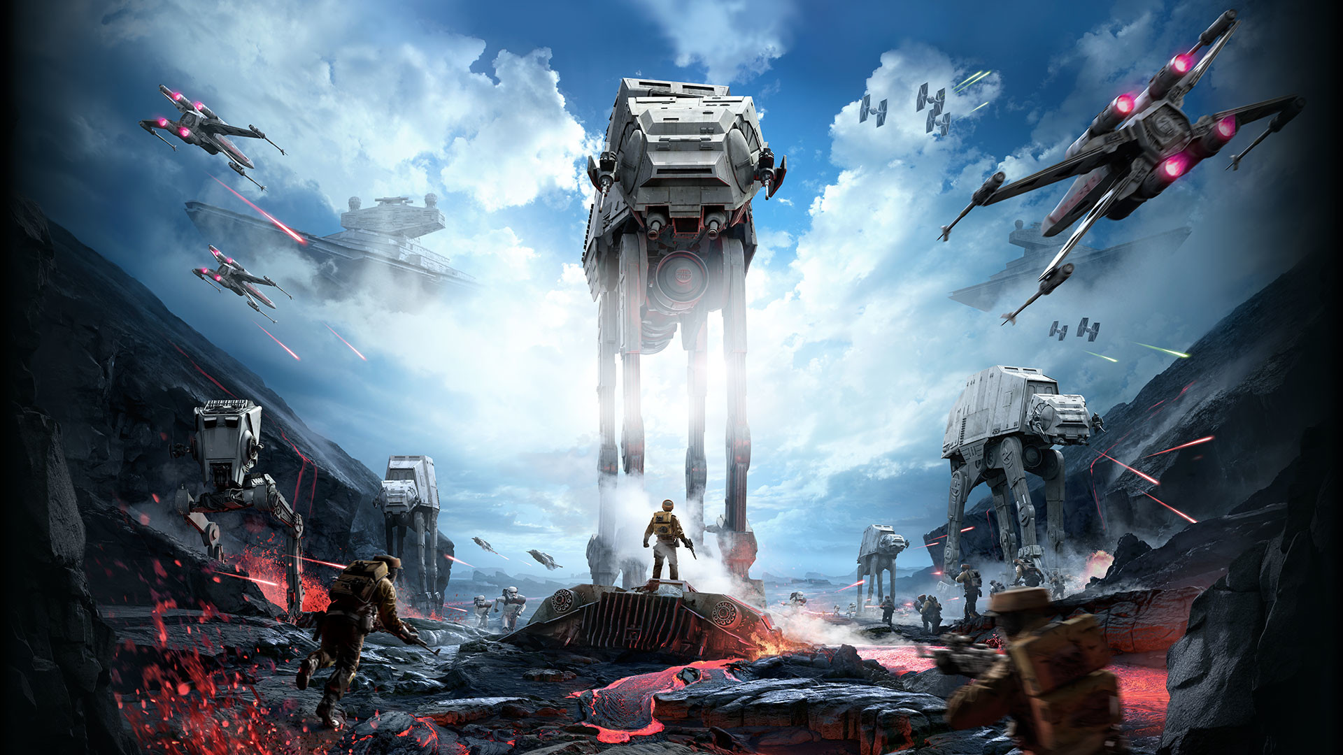 Star Wars - Star Wars Battlefront Wallpaper 4k - 1920x1080 ...