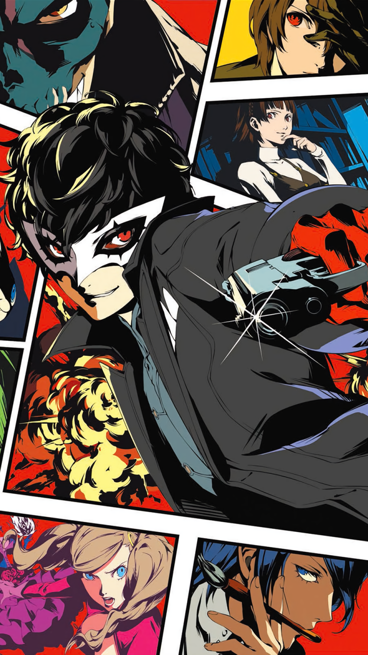 Iphone Persona 5 750x1334 Download Hd Wallpaper Wallpapertip