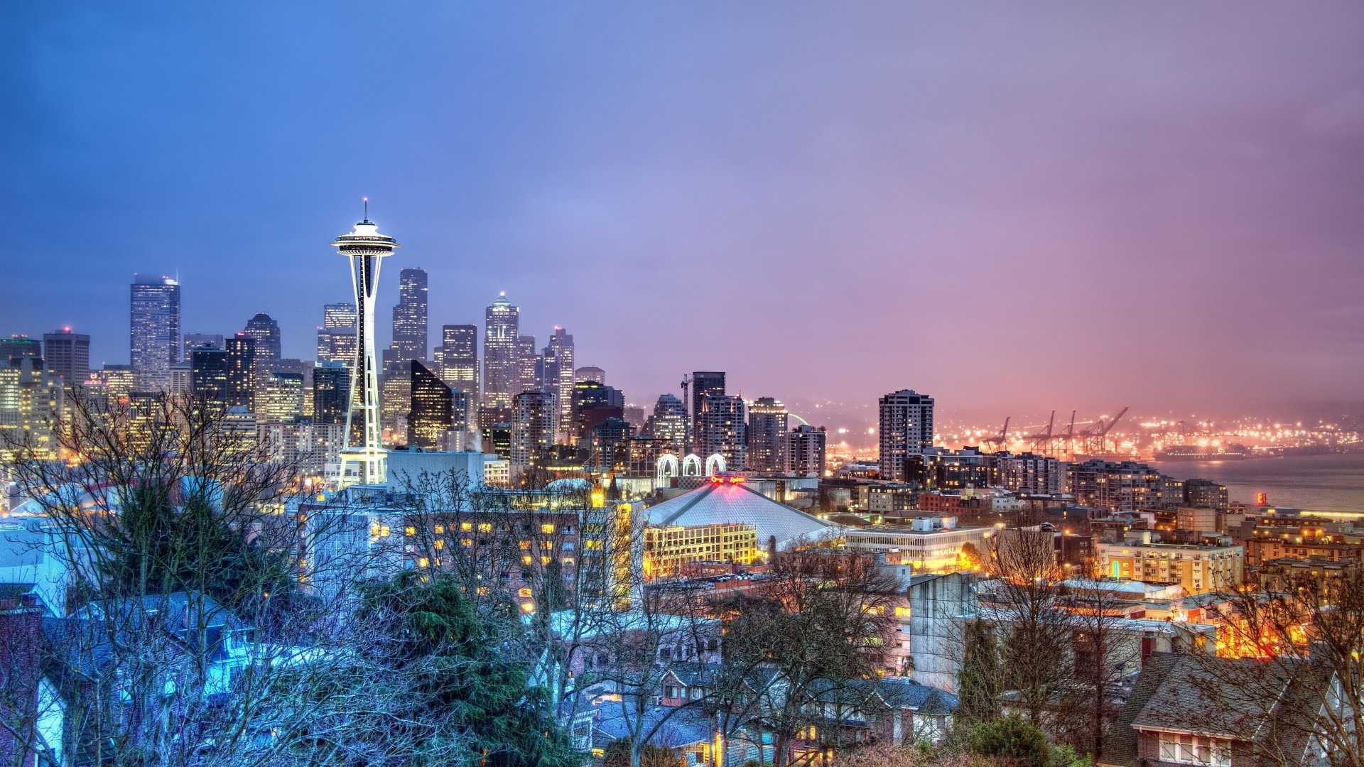 Seattle 1920x1080 Download Hd Wallpaper Wallpapertip