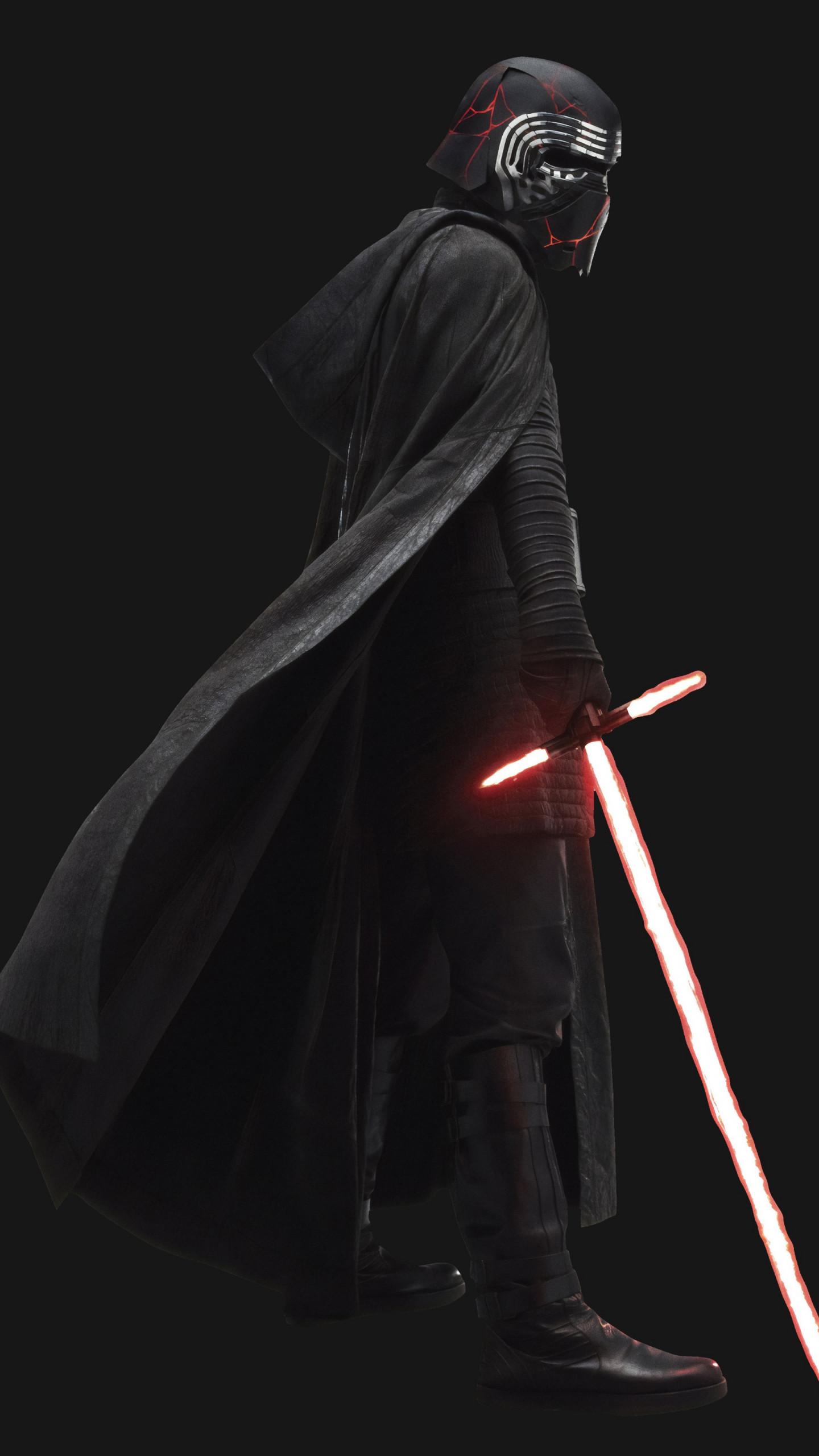 Star Wars Rise Of Skywalker Kylo Ren Lightsaber 768x1280 Download Hd Wallpaper Wallpapertip
