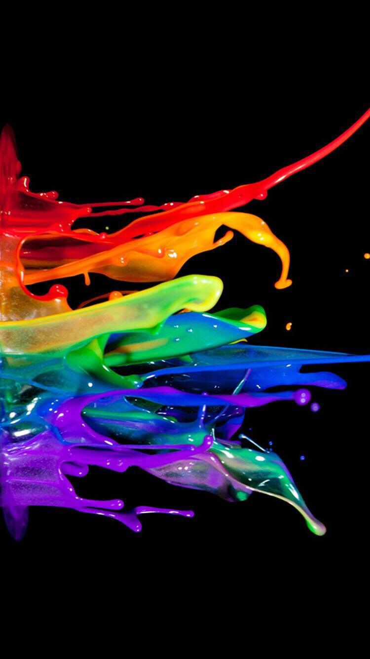 Color Splash Wallpaper 4k 750x1334 Download Hd Wallpaper Wallpapertip