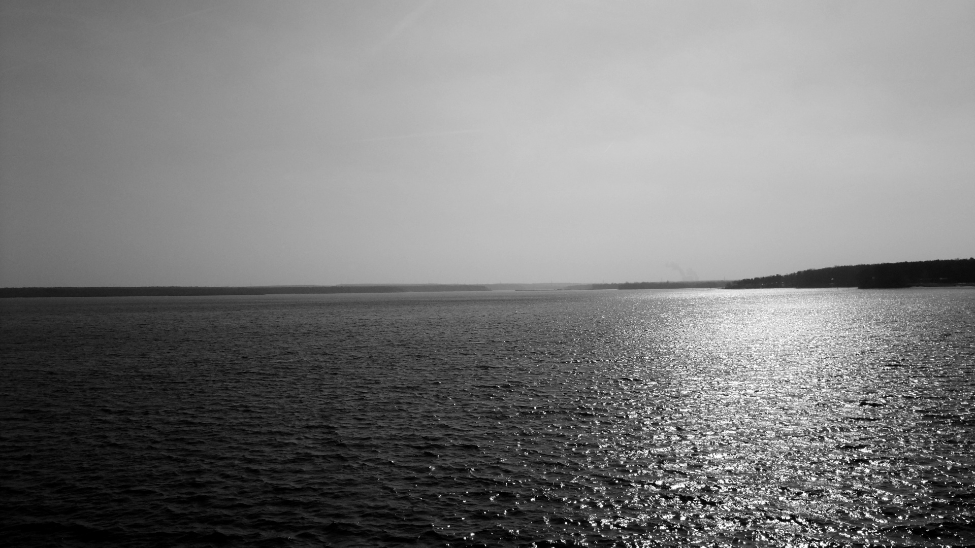 Ocean Black And White 1920x1080 Download Hd Wallpaper Wallpapertip