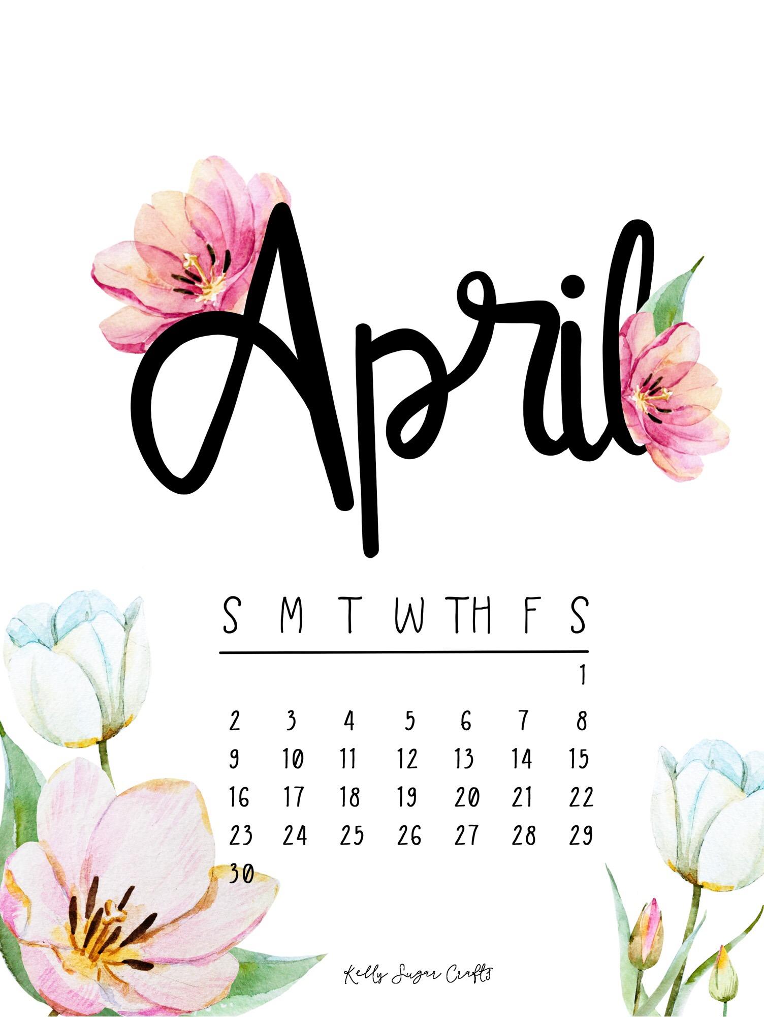 fond d'écran calendrier d'avril   fond d'écran d'avril   1504x2000