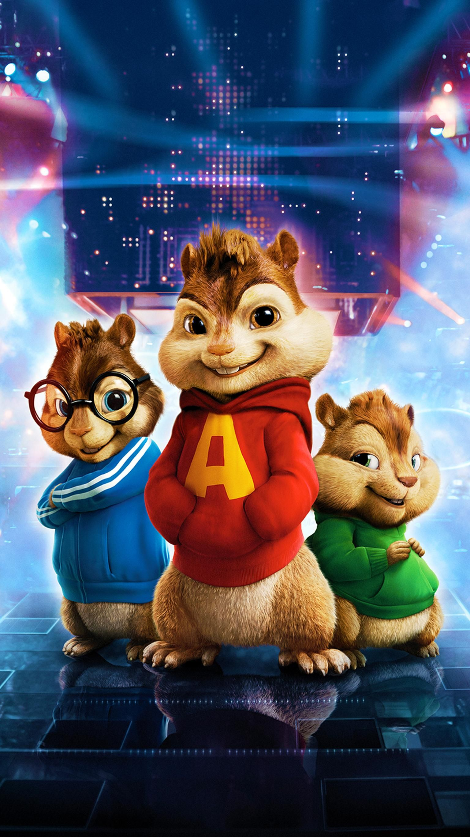 Alvin Et Les Chipmunks Fond D Ecran En Direct De Dessin Anime 1536x2732 Wallpapertip