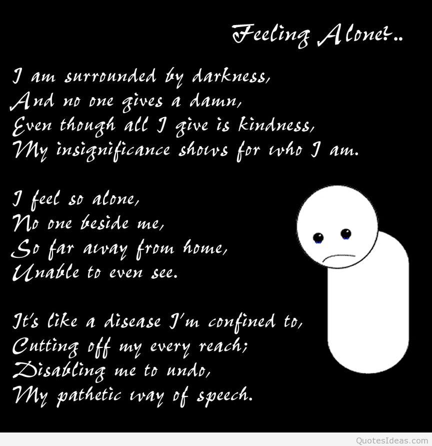 Fühle mich so alleine