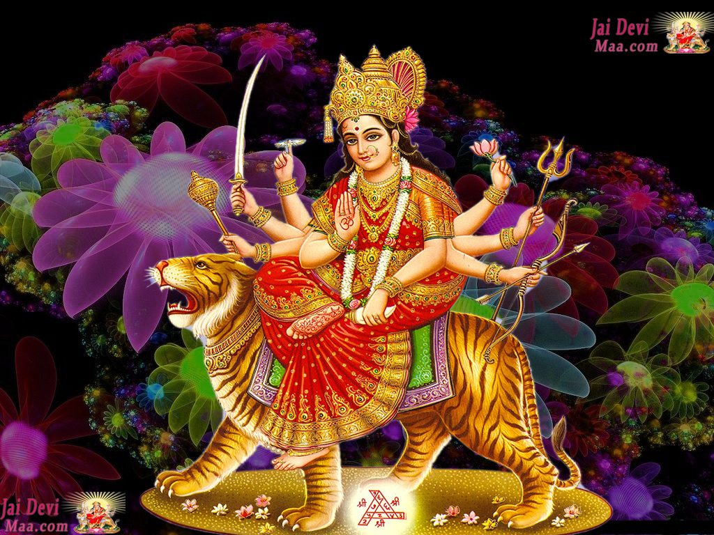 Durga Mata Images Free Download 1024x768 Download Hd Wallpaper Wallpapertip