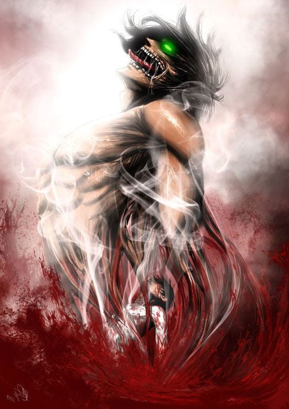 Attack On Titan For Iphone Background 570x806 Download Hd Wallpaper Wallpapertip
