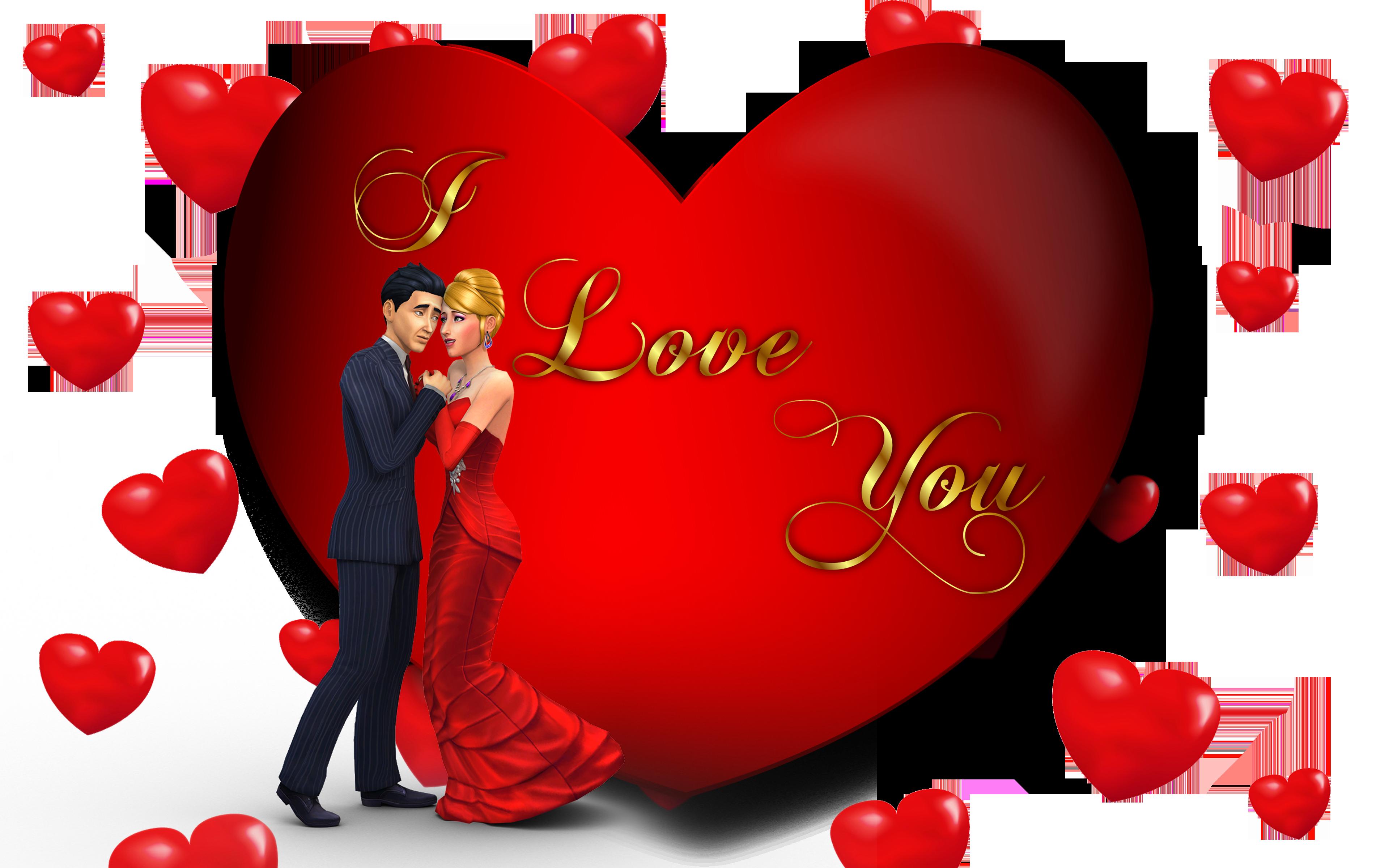 I Love U Wallpaper With Couple 3840x2400 Download Hd Wallpaper Wallpapertip