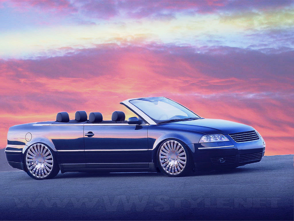 Volkswagen Passat Vw Passat 3bg Cabrio 1024x768 Download Hd Wallpaper Wallpapertip