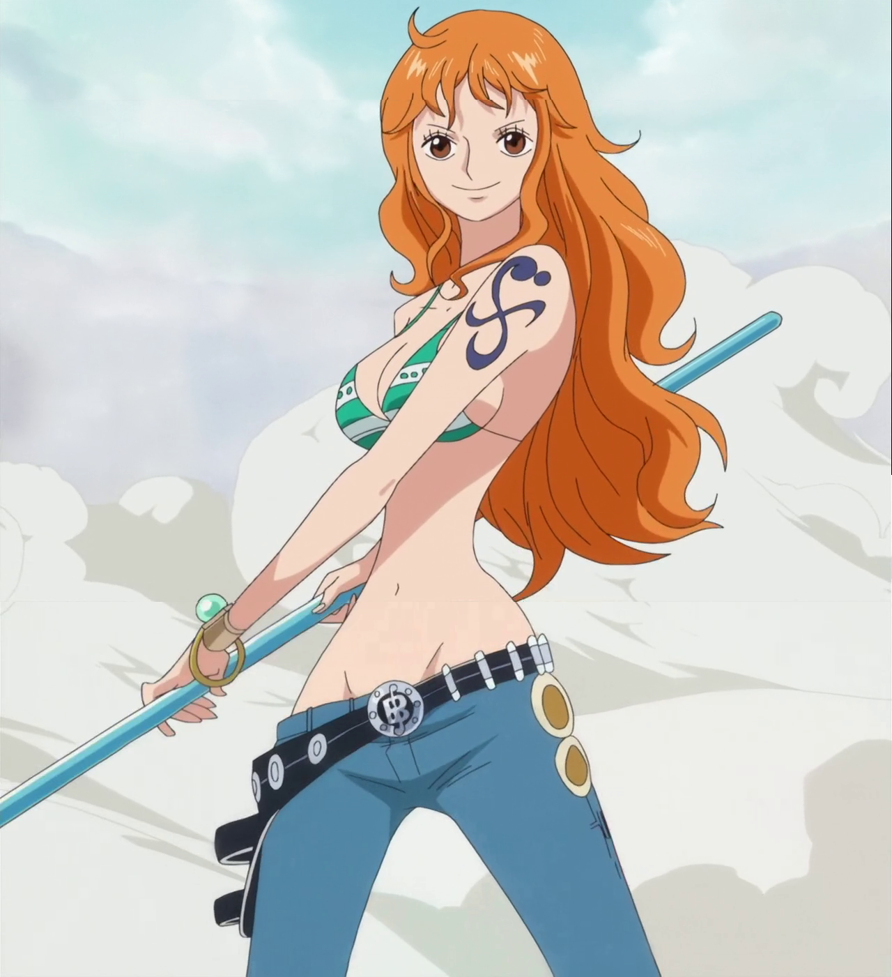 Nami Mirage Tempo Nami One Piece 1280x1401 Download Hd Wallpaper Wallpapertip