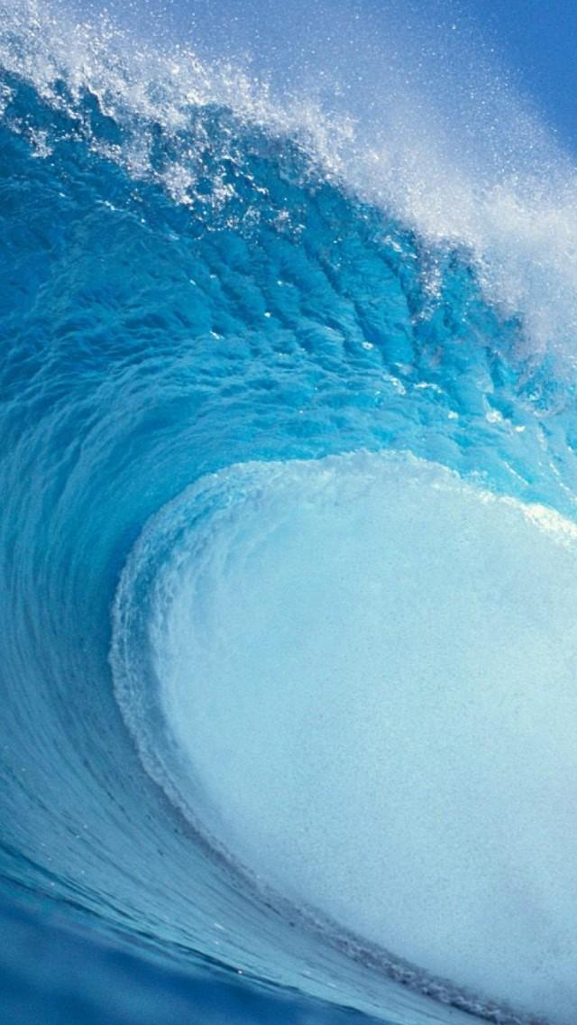 Waves Ocean Iphone 5s Wallpaper Download Iphone Wallpapers Ocean Wave Wallpaper Iphone 640x1136 Download Hd Wallpaper Wallpapertip