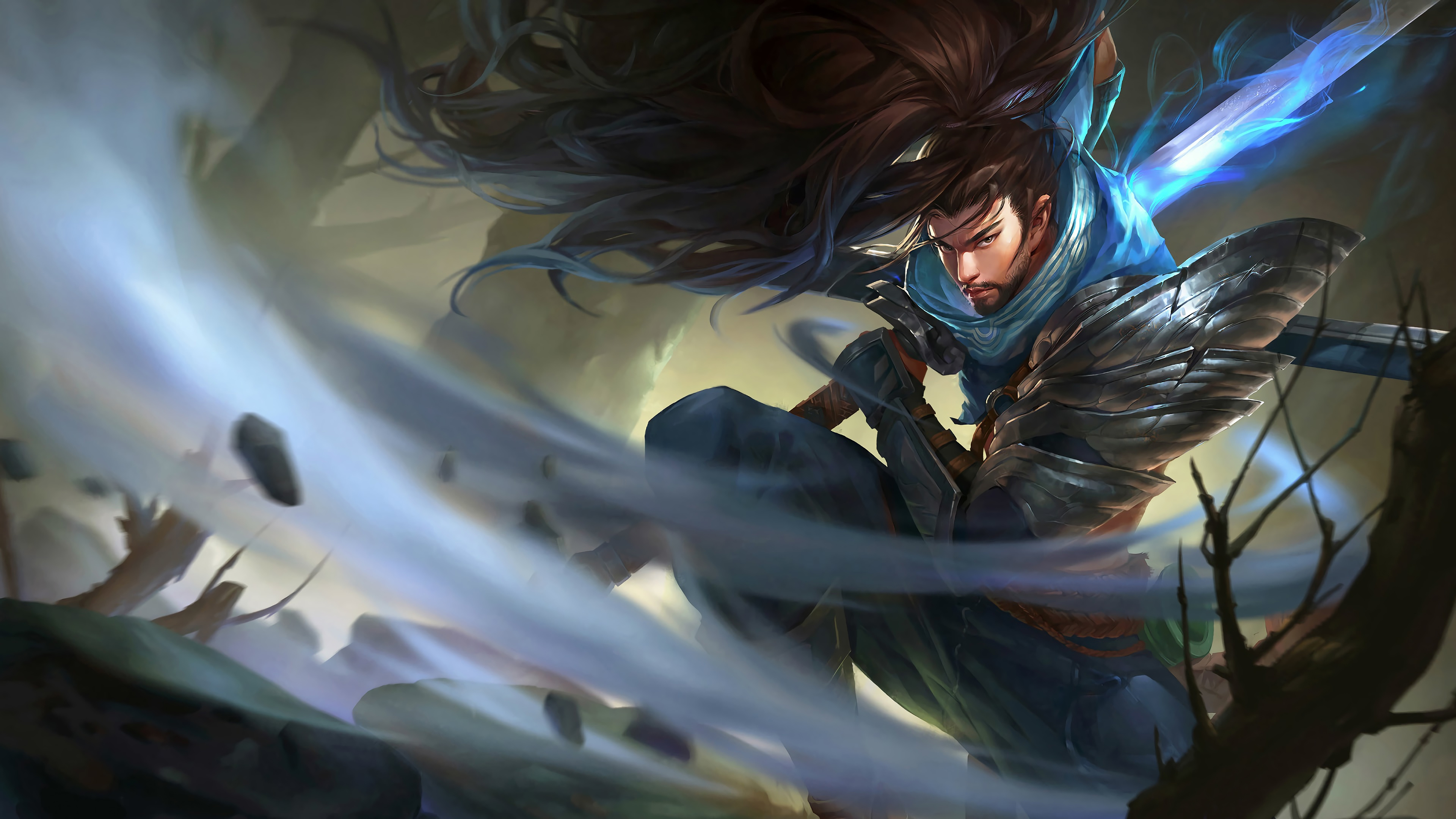 Yasuo League Of Legends Wallpaper 4k 3840x2160 Download Hd Wallpaper Wallpapertip