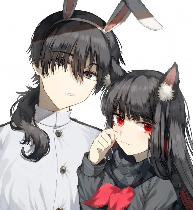 Cute Couple Pic Anime 650x707 Download Hd Wallpaper Wallpapertip