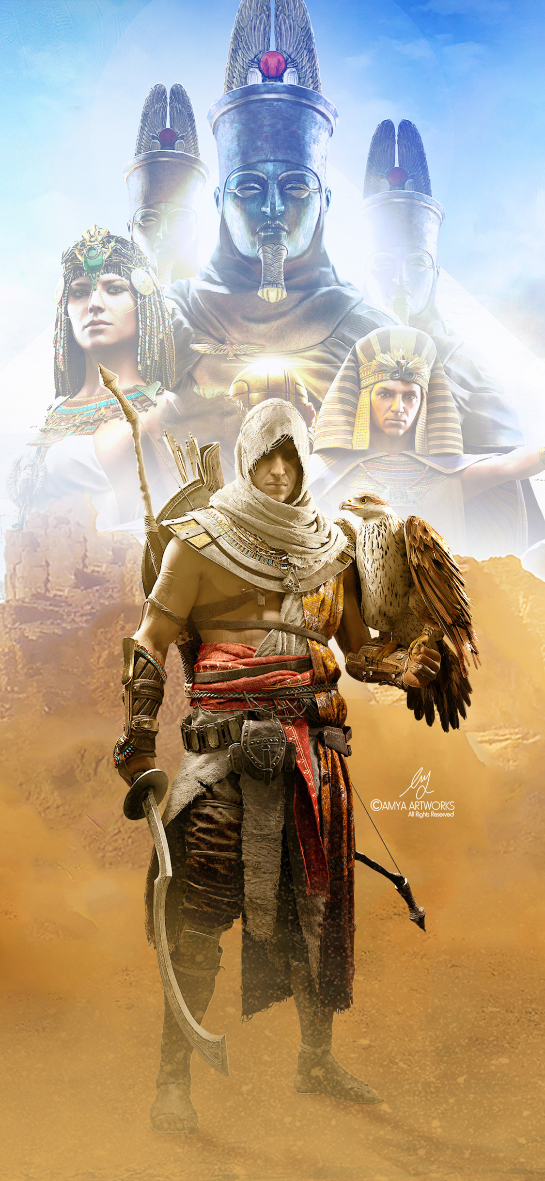 Assassins Creed Iphone Wallpaper 1125x2436 Download Hd