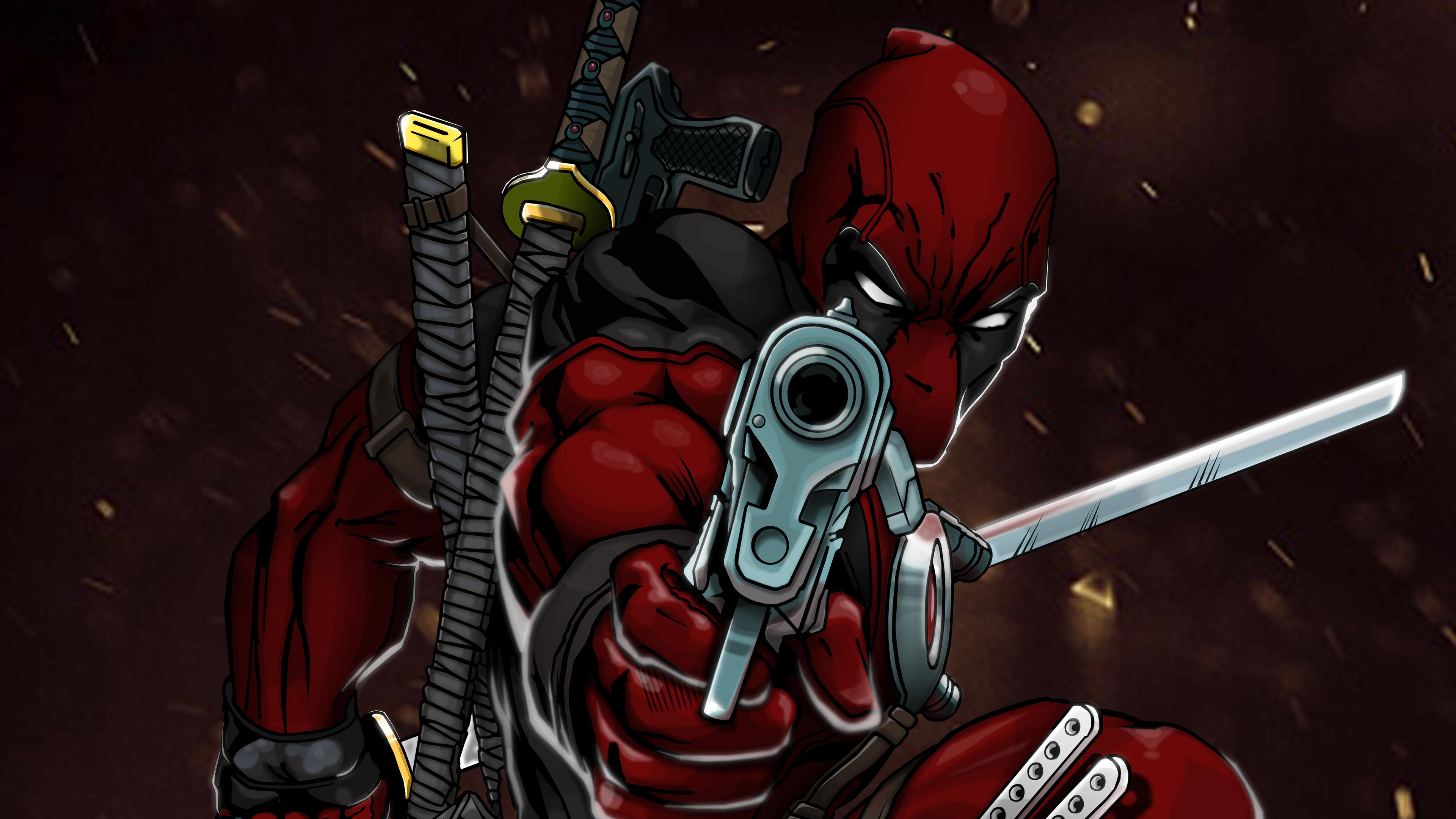 Deadpool 4k 3840x2160 Download Hd Wallpaper Wallpapertip