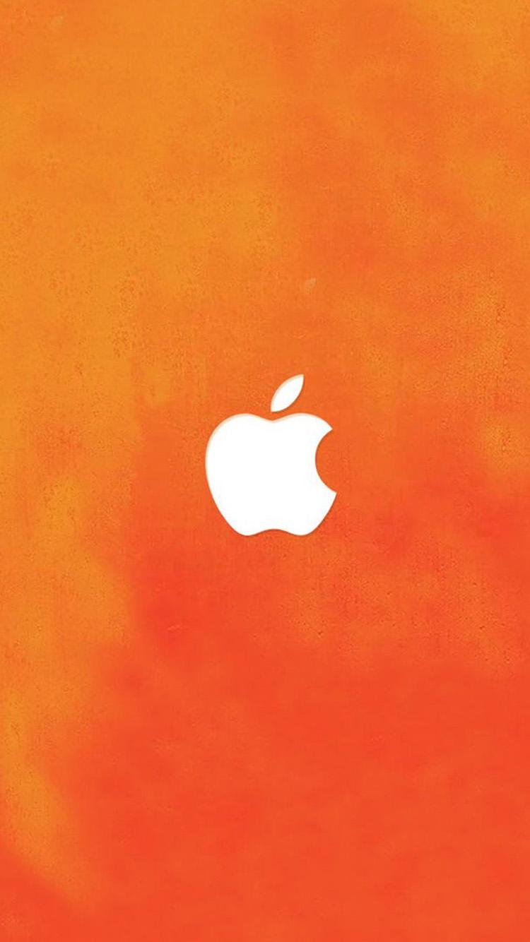 Orange Apple Wallpaper Iphone ...