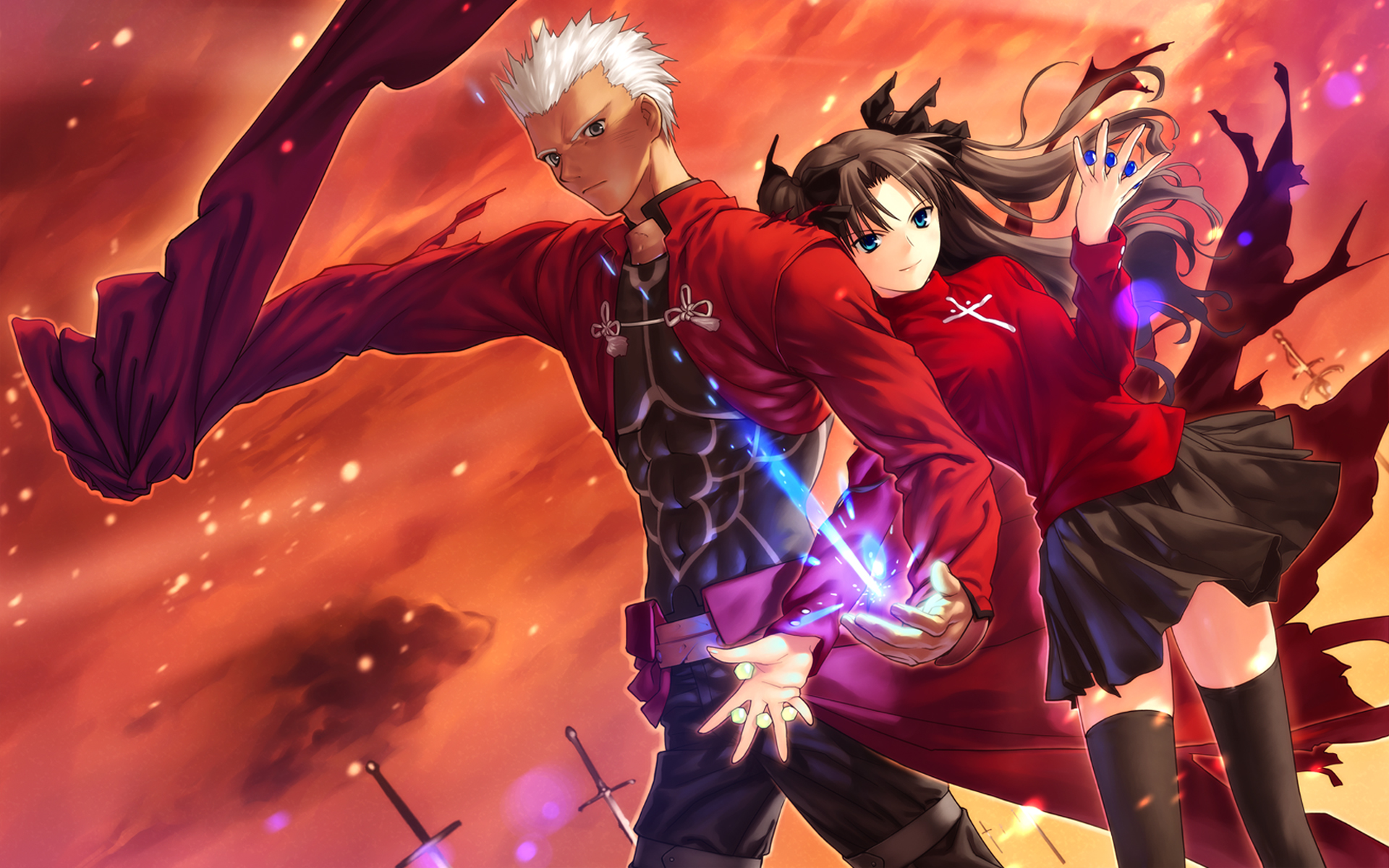Fate Stay Night Unlimited Blade Works私は刀士郎の骨 運命の夜の壁紙 19x10 Wallpapertip