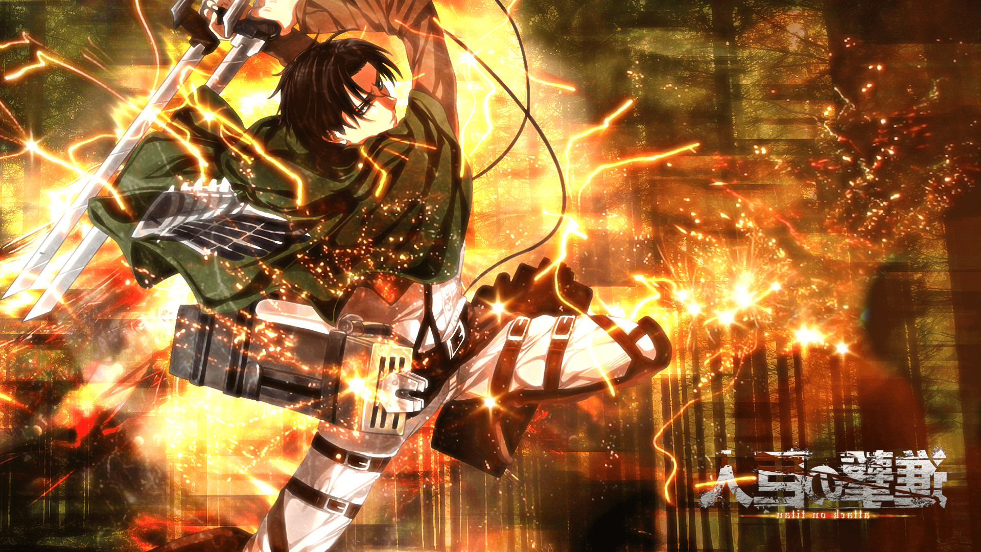 Shingeki No Kyojin Levi Ackerman Anime Wallpapers Hd Shingeki No Kyojin Wallpaper Hd 1920x1080 Download Hd Wallpaper Wallpapertip