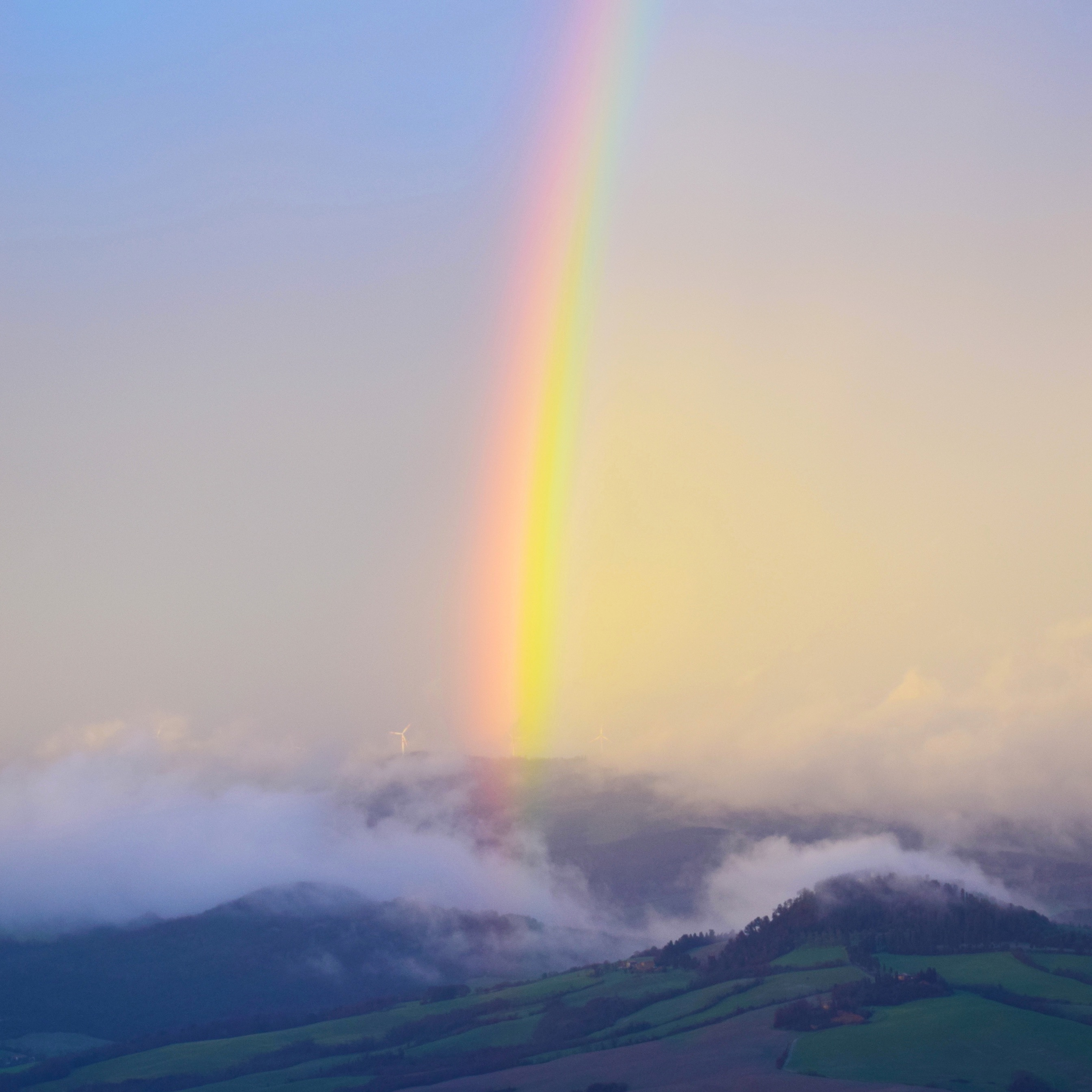 Regenbogentapete iPhone   Regenbogen iPhone Wallpaper   21x21 ...