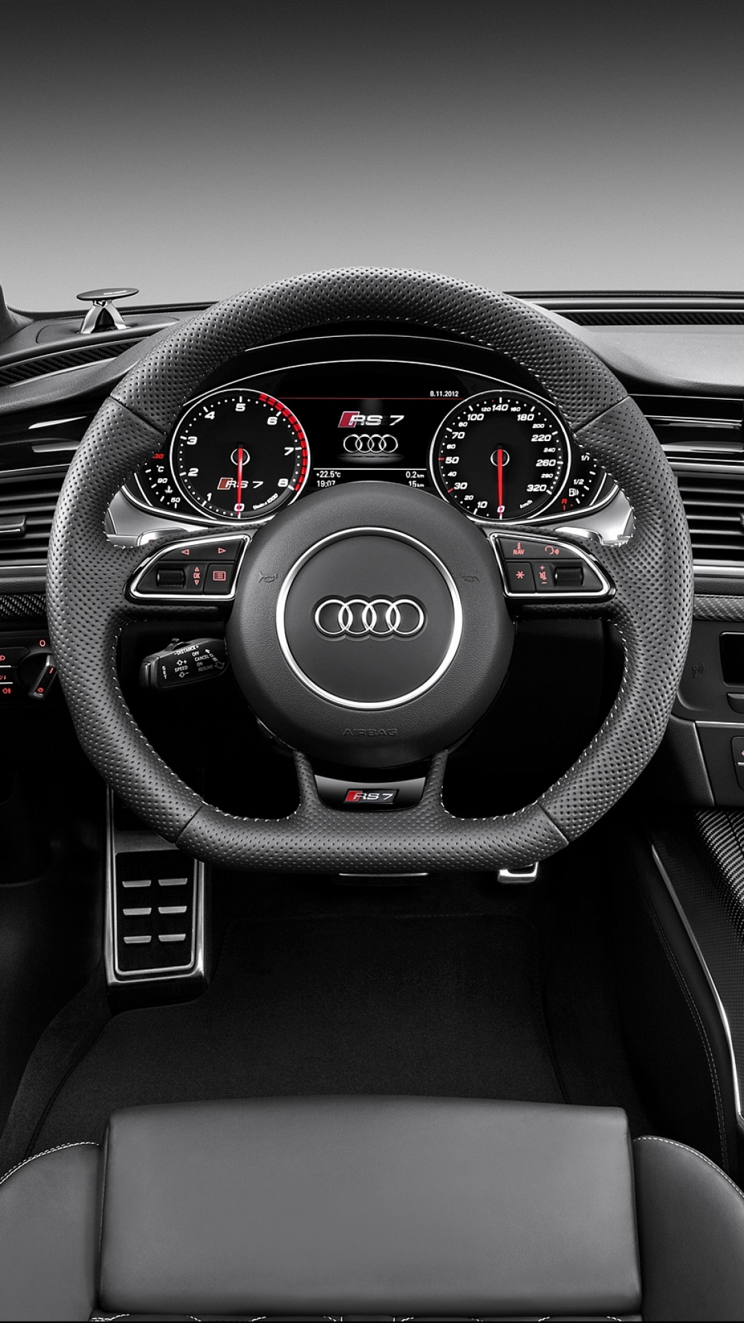 Audi Rs7 2013 Interior 1080x1920 Download Hd Wallpaper Wallpapertip
