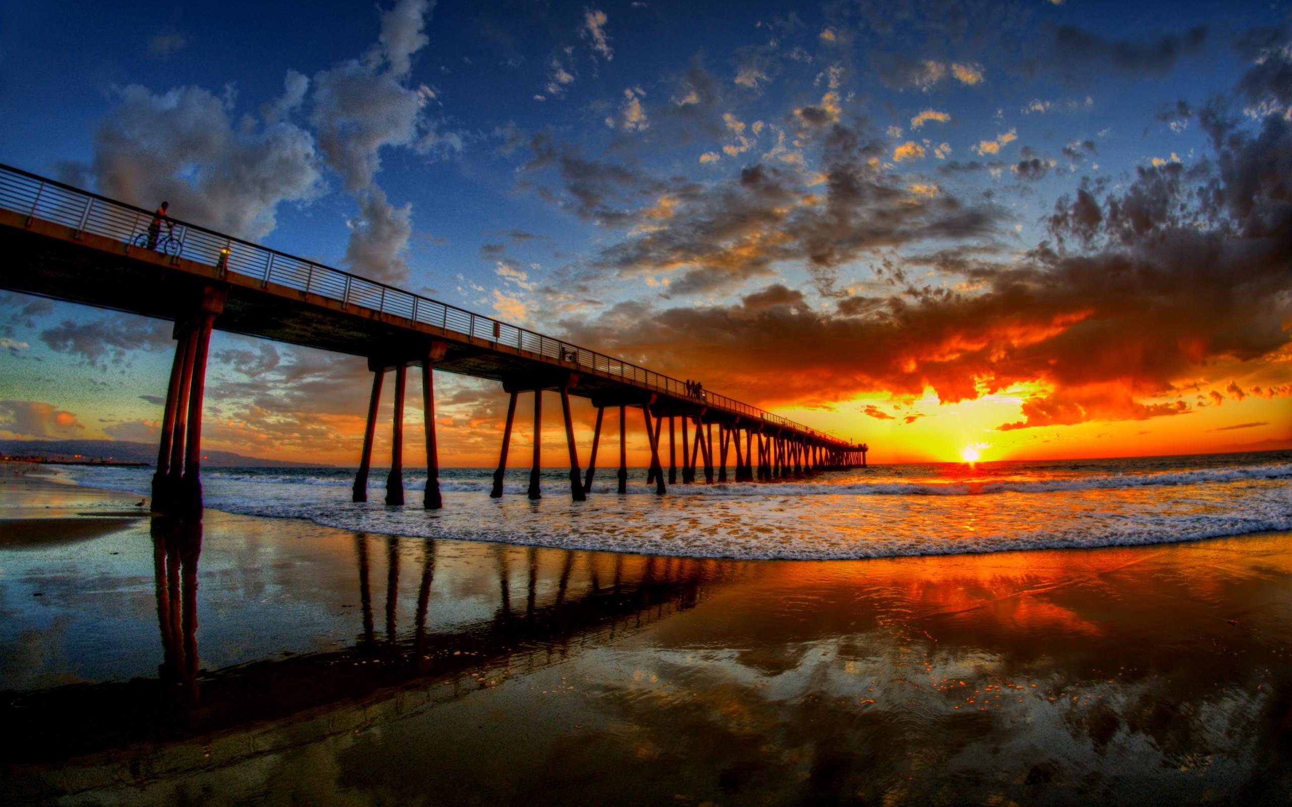 Dream Summer Beautiful Sunset Desktop Backgrounds 2560x1600 Download Hd Wallpaper Wallpapertip