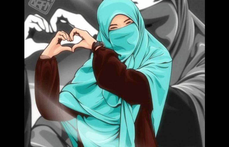 Muslimah Bercadar Gambar Kartun Muslimah Cantik 770x497 Download Hd Wallpaper Wallpapertip
