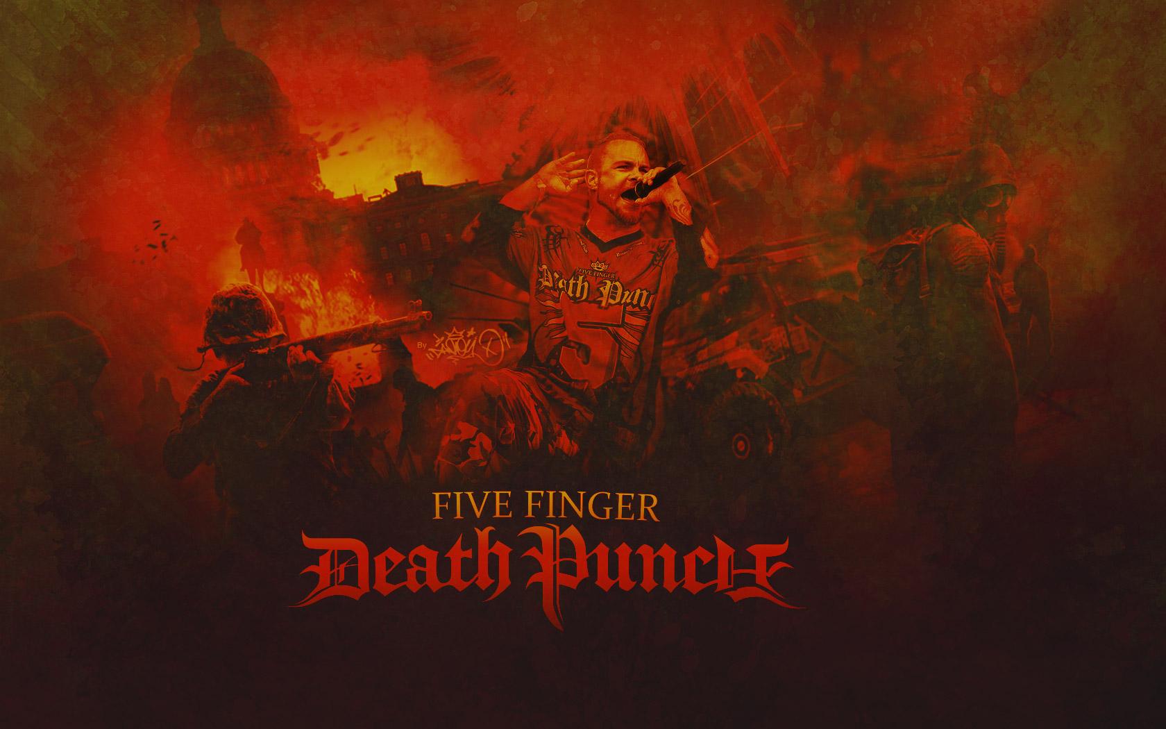Five Finger Death Punch Heavy Metal Hard Rock Bands Five Finger Death Punch Wallpaper 4k 1680x1050 Download Hd Wallpaper Wallpapertip