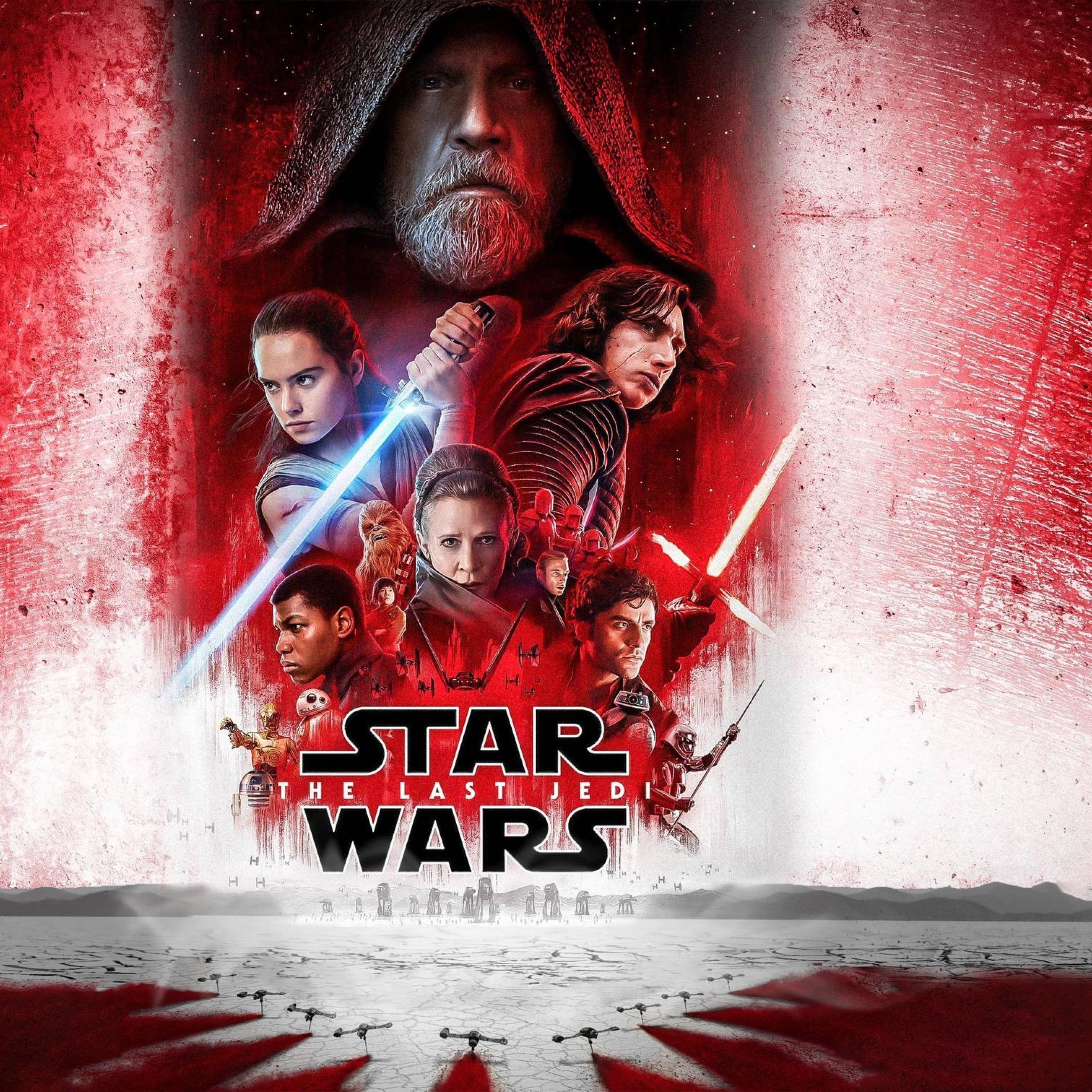 Star Wars 8 The Last Jedi 2932x2932 Download Hd Wallpaper Wallpapertip