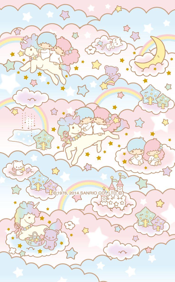 My Little Twin Stars Wallpaper Little Twin Stars Wallpaper Iphone 736x1189 Download Hd Wallpaper Wallpapertip