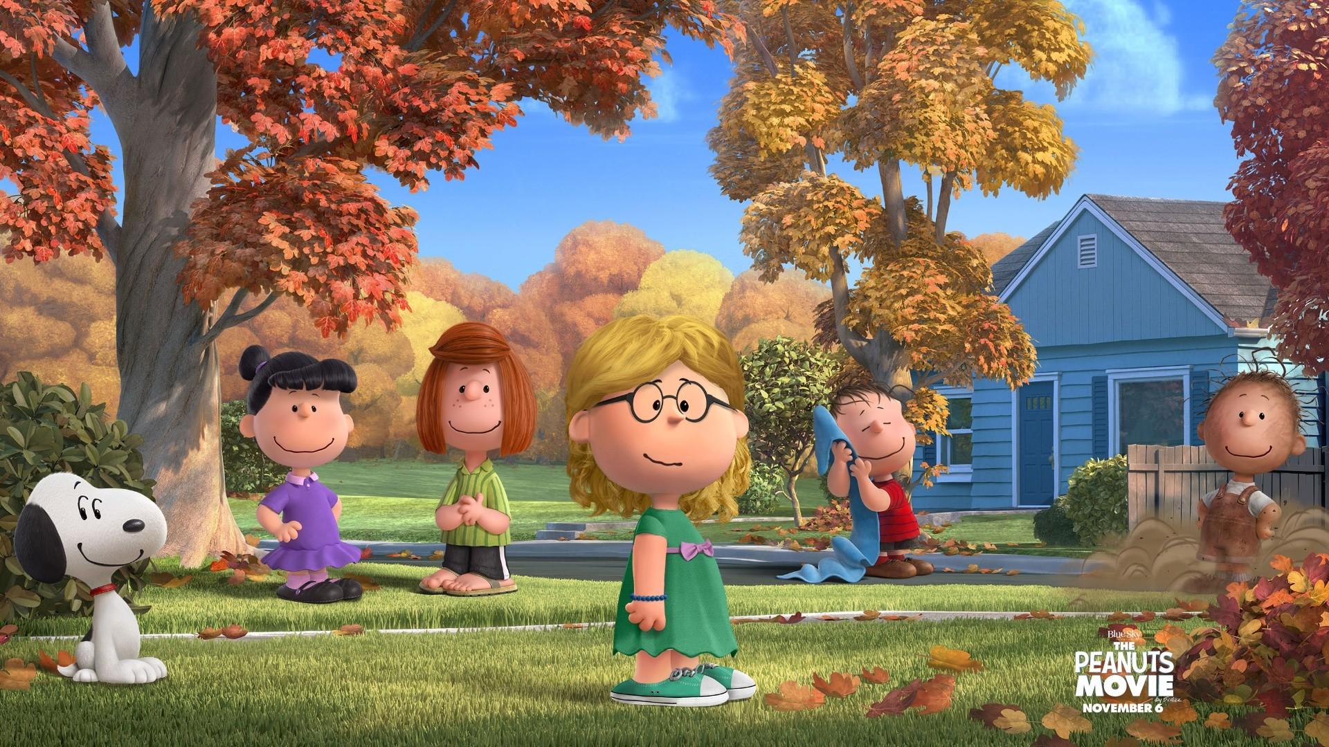子供のための秋の背景 ピーナッツの壁紙 19x1080 Wallpapertip