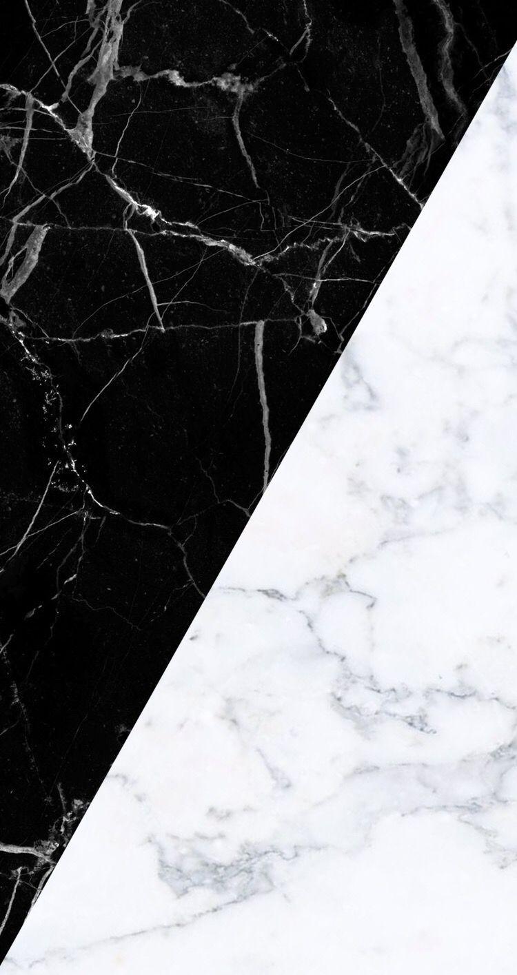 ästhetisches Schwarz und Weiß   Marmortapete tumblr   20x20 ...